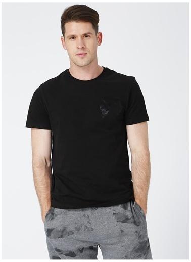 Black On Black Black On Black Hamburg Siyah Erkek T-Shirt Siyah